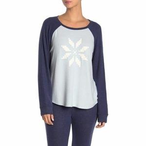 NWT Free Press Raglan Hacci Long Sleeve Sweater